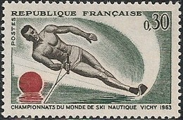 FRANCE - WORLD WATER-SKIING CHAMPIONSHIPS, VICHY 1963 - MNH - Sci Nautico