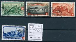 SCHWEIZ / SUISSE  -  1944  ,  Pro Patria - Usados