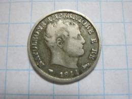 Kingdom Of Napoleon 5 Soldi 1811 M - Temporary Coins