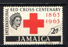 JAMAICA - 1963 - CENTENARIO DELLA CROCE ROSSA - USATO - Jamaique (1962-...)