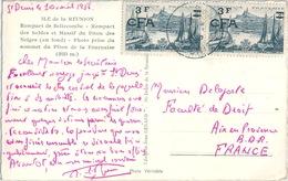 FRANCE REUNION Affranchissement Paire Surchargée - Other