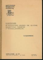 902/30 -- LIVRE/BOEK WEFIS Nr 22 - OOSTENDE Burgerpost 1914/1918.. , 50 Blz ,1979 , Door B. Blontrock - Philatelie Und Postgeschichte