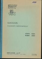 904/30 -- LIVRE/BOEK WEFIS Nr 27 -  Raddatumstempels OOSTENDE , 35 Blz ,1981 , Door Goes En Leroy - Oblitérations