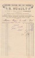 COMMERCY R HUAULT GRAND BAZARD DE LA MEUSE VERRERIE COUTELLERIE JOUETS D ENFANT BIMBELOTERIE ANNEE 1895 - France