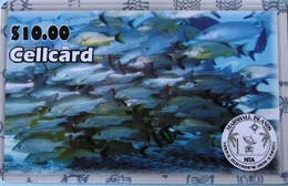 MARSHALL  -  Prepaid  -  Fishs  -  $ 10 - Marshall Islands