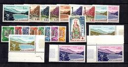 Andorre YT N° 153A/164 Et N° 172 Neufs ** MNH. TB. A Saisir! - Andorra Francese