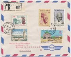Marokko Luftpost Brief Ab Rabat Gelaufen In Die Schweiz - Maroc (1956-...)