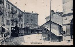 CPA De SAINT-CLAUDE (39) - Station Du Tramway De Lons-le-Saulnier // TBE - Saint Claude