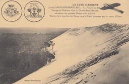 33 - Arcachon - La Pointe Du Sud - Passage De Védrines Dans La Course Paris-Madrid Au Dessus Des Grandes Dunes - Arcachon