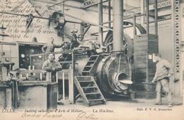Lille CVC Bruxelles ICAM La Machine à Vapeur Dos Simple 1903 TBE - Lille