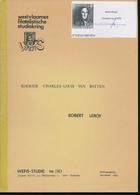 907/30 -- LIVRE/BOEK WEFIS Nr 30 -  Oostende Koerier C-L. Van Batten 1801/1887 , 61 Blz ,1982 , Door Robert Leroy - Amministrazioni Postali