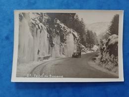Col De Bussang Glace Neige Et Voiture Carte Photo Vosges Grand Est - Bussang