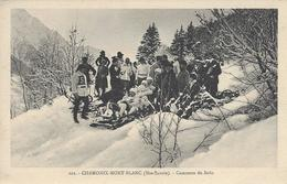 74 CHAMONIX MONT BLANC SPORTS HIVER CONCOURS DE BOBS Editeur MONNIER  PHOTO SPORT 122 - Chamonix-Mont-Blanc