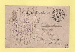 Gare Des Aubrais - Loiret - Commission Militaire - 21-4-1917 - Guerra De 1914-18
