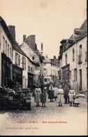 CPA  [21] Côte D'Or > ARNAY LE DUC - Rue Auguste Dubois - Arnay Le Duc