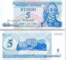 Transnistria 5 Ruble 1994 UNC - Billets