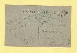 Gare De Saintes - Commission Militaire - Guerra De 1914-18