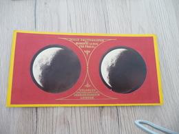 Photo Stéréoscopique Warren De La Rue London  Lunar Photographs Lune Astronomie N°I - Photos Stéréoscopiques