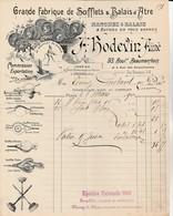 Hermès (Oise) / Paris - A.Bodevin Aîné - Fabrique De Soufflets Et Balais D'âtre - France