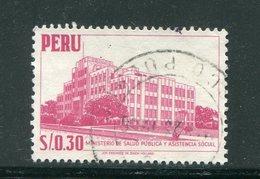 PEROU- Y&T N°447- Oblitéré - Peru