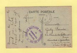 Service Militaire Des Chemins De Fer - Le Commissaire Militaire - Gare De Clermont Ferrand - 1917 - Puy De Dome - Guerra De 1914-18