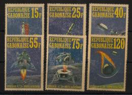Gabon - 1971 - N°Mi. 403 à 408 - Apollo XIV - Neuf Luxe ** / MNH - Gabon