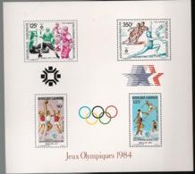 Gabon - 1984 - Bloc Feuillet BF N°Yv. 47 - Olympics / Los Angeles - Neuf Luxe ** / MNH / Postfrisch - Gabun (1960-...)