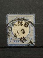 Deutsche Reich Brustschild Mi-Nr. 26 Gestempelt KW-90 € - Germania