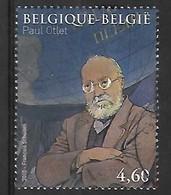 OCB Nr 3992 Paul Otlet Mundaneum Francois Schuiten - Belgium