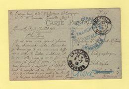 Granville - Depot 2e Regiment D Infanterie - 1919 - Guerra De 1914-18