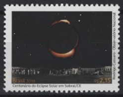 Brazil - Brasil (2019) - Set -  /  Espace - Space - Eclipse - Space