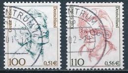 °°° GERMANY - Y&T N°1981/82 - 2000 °°° - Usati
