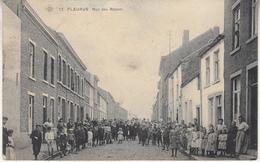 Fleurus - Rue Des Rabots - Très Animé - 1907 - SBP 21 - Fleurus