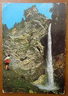 MADESIMO La Cascata Cartolina 1984  Viaggiata - Altre Città