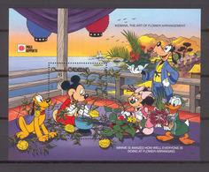Disney Grenada Gr 1991 IKEBANA, The Art Of Flower Arrangement MS MNH - Disney