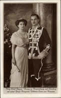 Cp Duc Ernst August Von Braunschweig, Princesse Victoria Luise Von Preußen, Liersch 4567 - Koninklijke Families