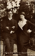 Cp Duc Ernst August Von Braunschweig, Princesse Victoria Luise Von Preußen, Liersch 7326 - Case Reali