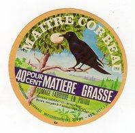 Fev20  86038    étiquette  Camembert     Maitre Corbeau - Formaggio