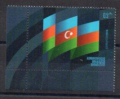 AZERBAIDJAN - 2018 - FLAG - DRAPEAU - - Azerbaïdjan