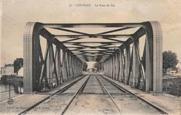 Louhans Gare Pont De Fer 30 Cornet - Louhans