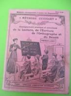 Méthode De Lecture/Méthode CUISSART/Lecture ,Ecriture,Orthographe Et Dessin/1er Livret/Education Nationale/1911   CAH305 - Libri, Riviste, Fumetti