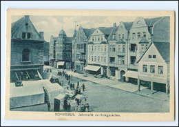 XX006398/ Schwiebus Krs. Züllichau  Jahrmarkt Zu Kriegszeiten AK Ca.1915 - Neumark