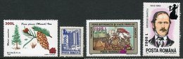 ROMANIA 2000 Surcharge  On Various Issues  MNH / **.  Michel 5523-24, 5530-31 - 1948-.... Republics