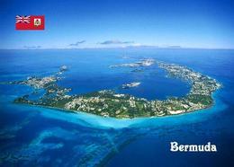 Bermuda Island Aerial View New Postcard - Bermuda