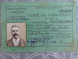 35 LA SELLE EN LUITRE ROUSSEAU LOUIS PIERRE  CARTE DU COMBATTANT 1930 - Unclassified