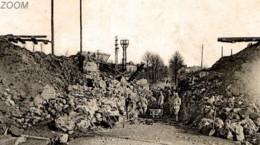 08 MEZIERES  Pont Du Chemin De Fer Détruit Par Les Allemands Sur La Route Du THEUX Et SAINT-LAURENT - 11 Novembre 1918 - - Charleville