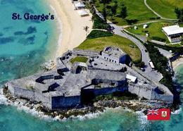 Bermuda Island St. George's Fort St. Catherine UNESCO New Postcard - Bermuda