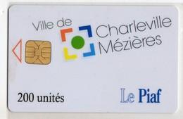 PIAF FRANCE CHARLEVILLE MEZIERES Ref Passion PIAF 08000-7 200 U ORGA 3 Date 10/05 Tirage 500 Ex - Francia