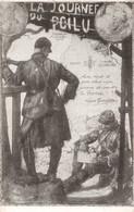 Militaria Guerre 1914 1918 Journée Journées Du Poilu 1915 Cpa 31 Octobre 1er Novembre Sauver La France Gambetta - War 1914-18