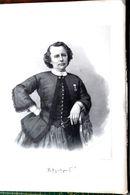ROSA BONHEUR GRAND PORTRAIT LITHOGRAPHIE VERS 1870 DE LA PEINTRE ANIMALIERE TRES BEL ETAT 38 X 27 CM TRES BON ETAT - 1801-1900